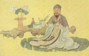 Bai Juyi by Chen Hongshou