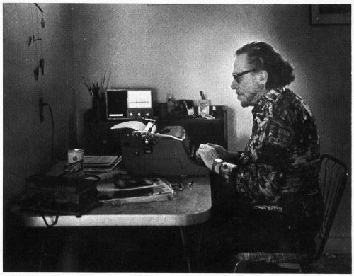 Charles Bukowski, 1988