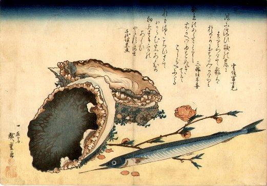 hiroshige_fish__shells2
