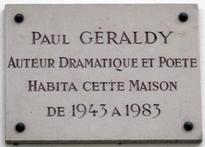 Plaque_Paul_Géraldy,_3_rue_de_Martignac,_Paris_7
