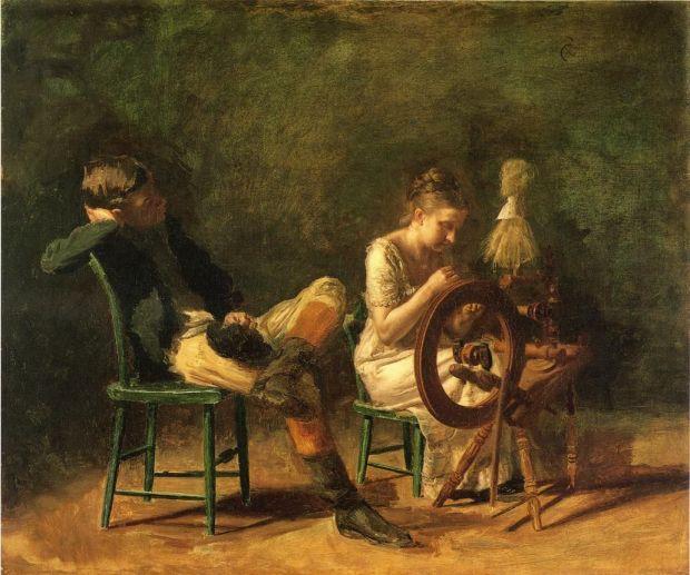 Thomas-Eakins-xx-The-Courtship